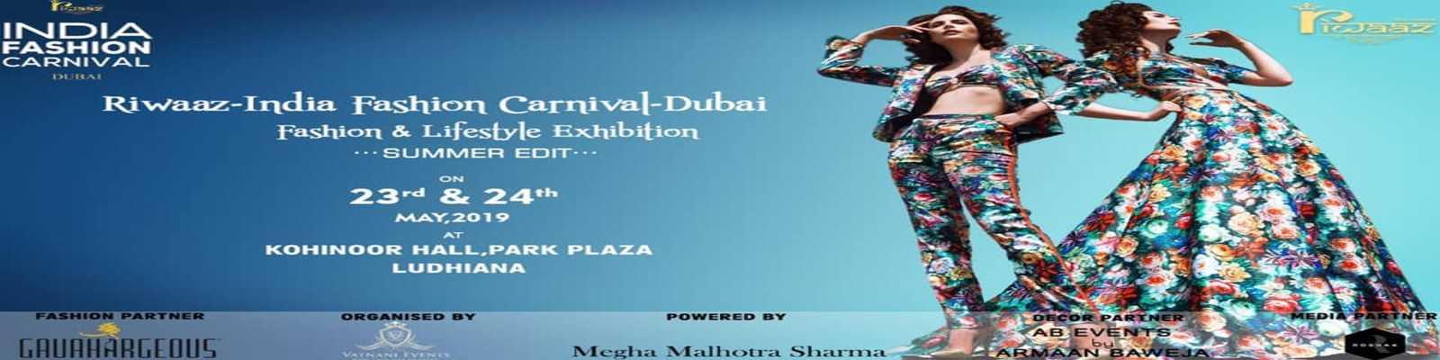 Riwaaz - India Fashion Carnival - Ludhiana - Citywoofer